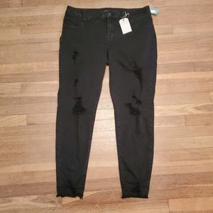 NWT maurices black Jegging XL